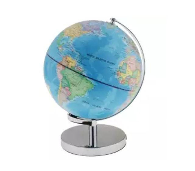 No Brand Illuminated Spinning World Globe Constellation Map 1