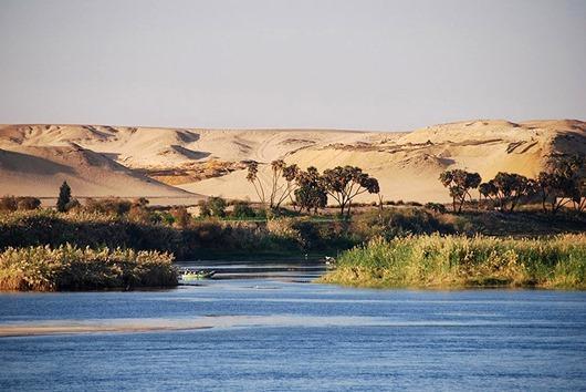 в Египте вода наделяется живительной способностью