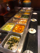 All you can eat vegan buffet in Tian Fu Lou, Guilin, China