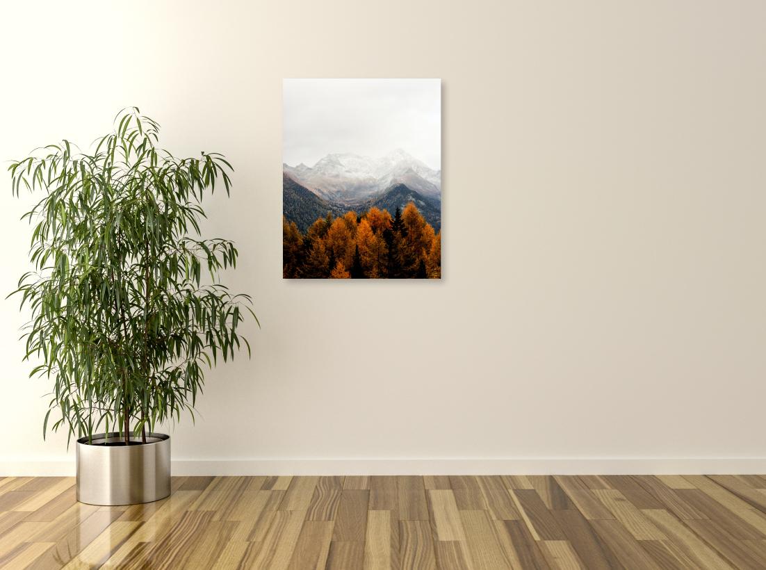 Tablou canvas Crestele muntilor