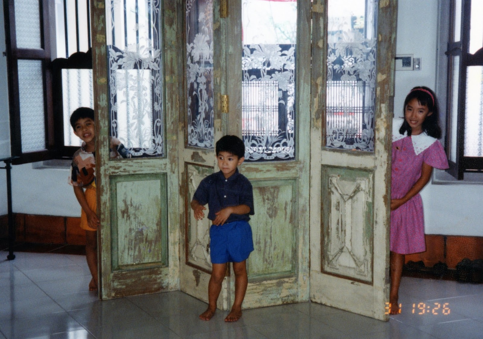 fang in childhood home shophouse canvas house