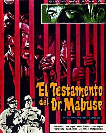 El testamento del doctor Mabuse (1933, Fritz Lang)