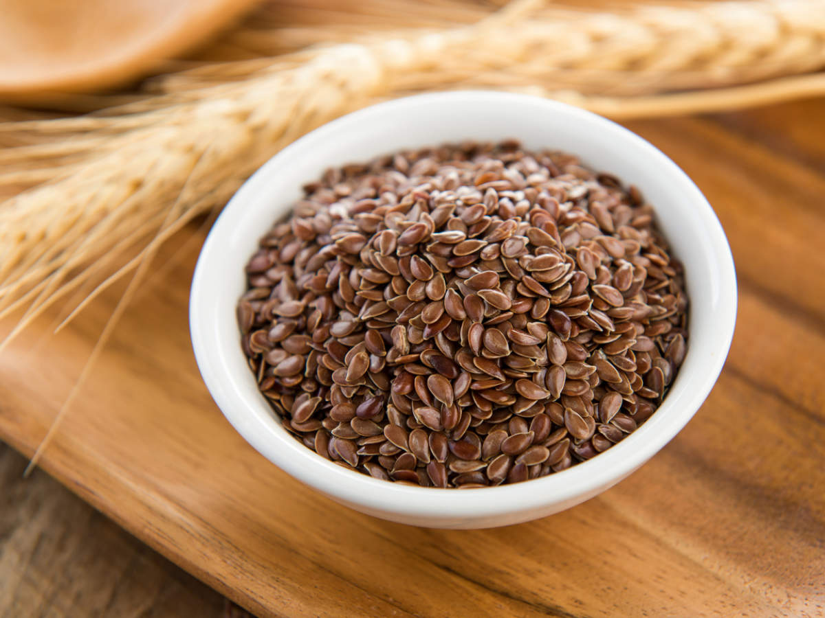 Tiny Flaxseeds that are highly rich in fiber and protein