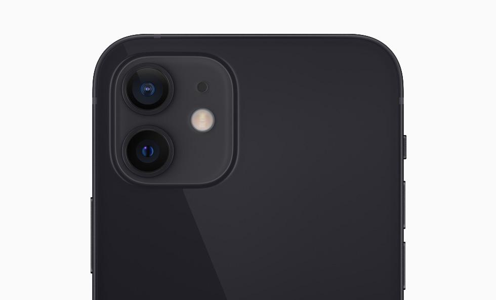 Das Zwei-Kamerasystem des iPhone 12.