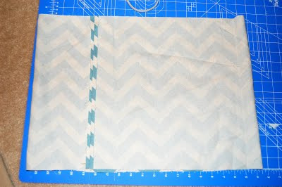 make chevron skirt