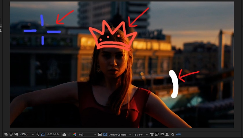 Add fill color to other layers -- 'Crown' and 'Explosion' layers.