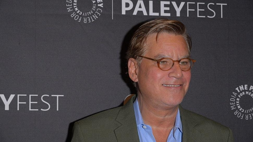 NEW YORK, UNITED STATES - 2019/10/04: Aaron Sorkin attends the PaleyFest New York Opening Night Presents THE WEST WING, A Look Back with Aaron Sorkin at The Paley Center for Media in New York City.