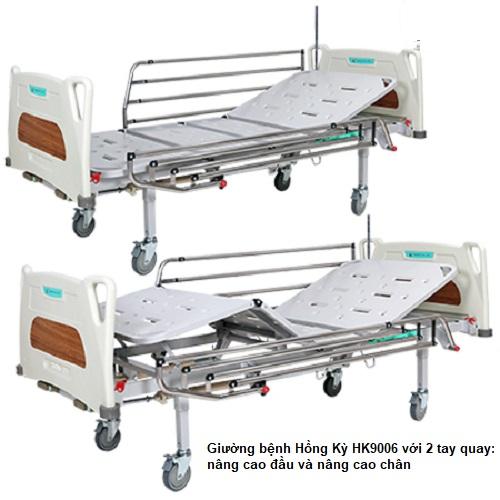 giường bệnh nhận hồng kỳ