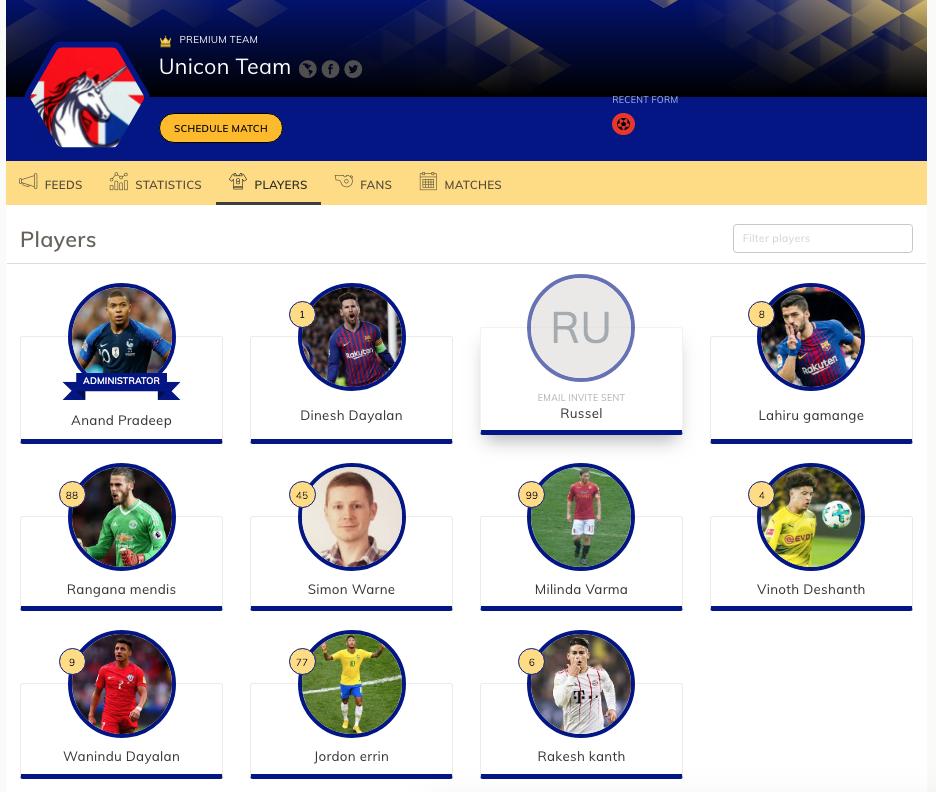 Player added