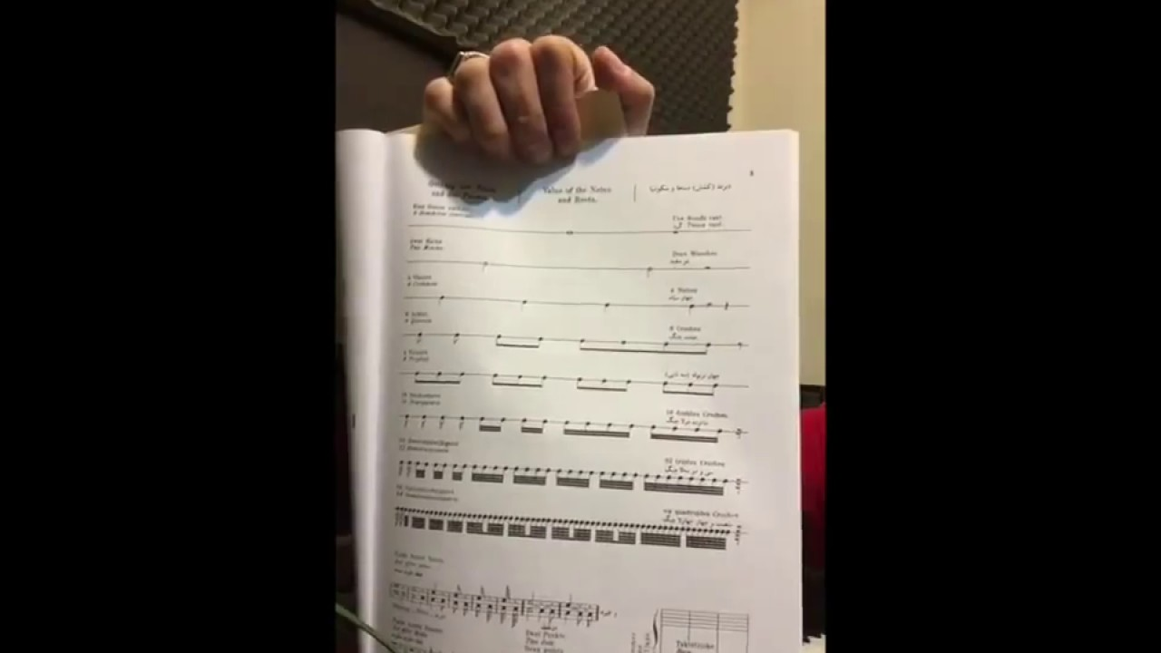 ۱ و ۲ احسان نیک آموزش پیانو