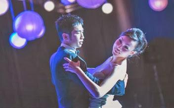 first dance in blue