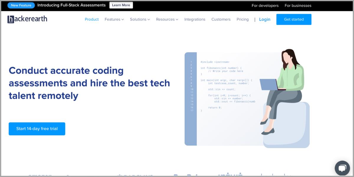 hackerearth homepage