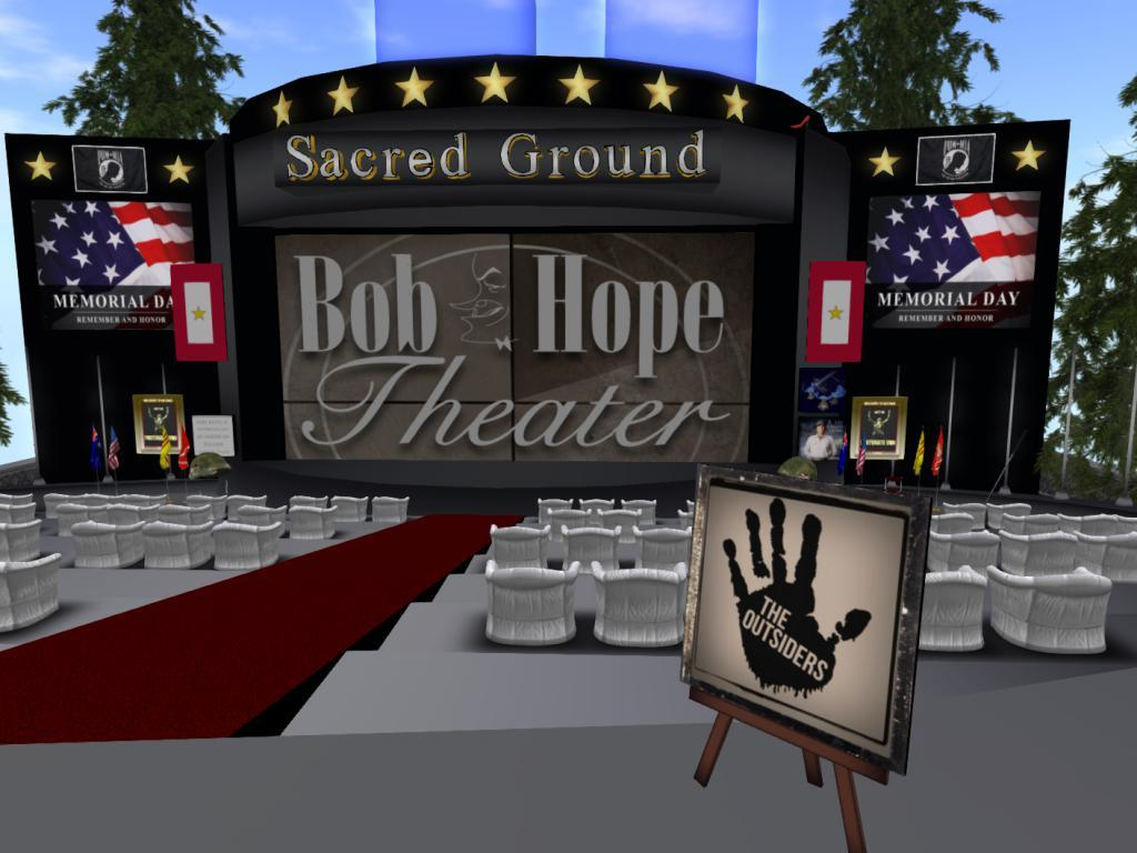 The Bob Hope Theater at Copperhead Road