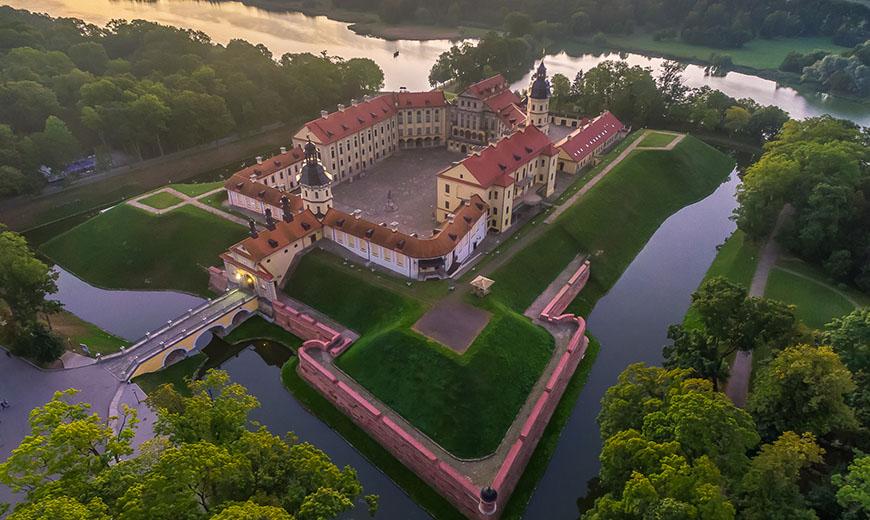 Достопримечательность Беларуси: Несвижский дворец