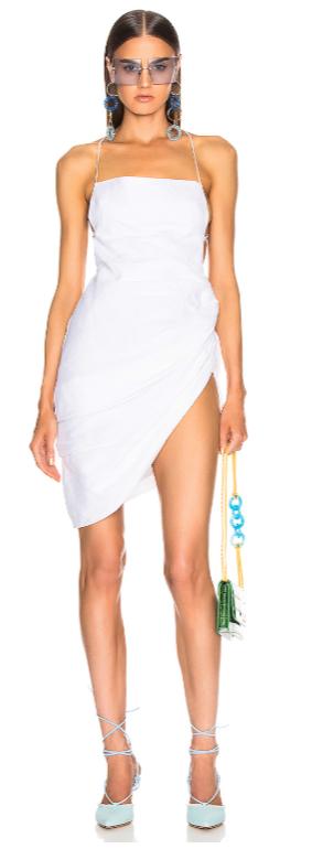 jaquemas white summer dress