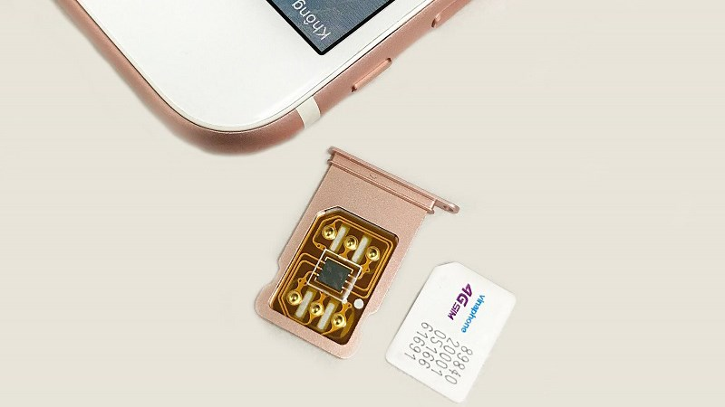Sim ghép dùng cho iPhone Lock