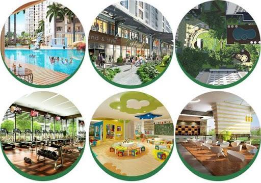 Eco Green sở hữu rất nhiều tiện ích nội khu