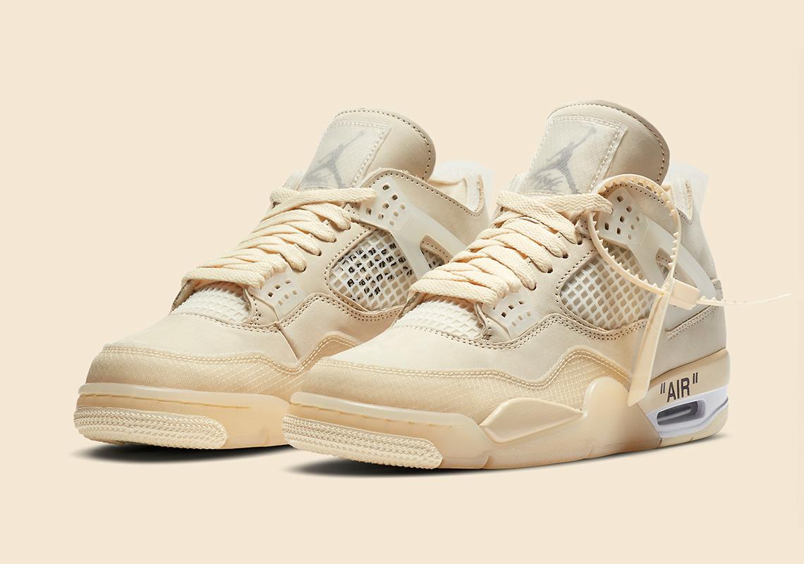 Nike Jordan 4 Off White sở hữu tone màu kem