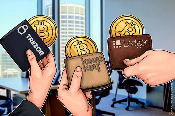 Bitcoin wallets: Trezor, KeepKey and Ledger