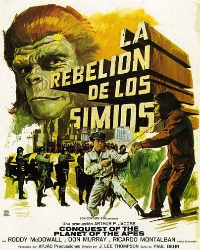 La rebelión de los simios (1972, J. Lee Thompson)