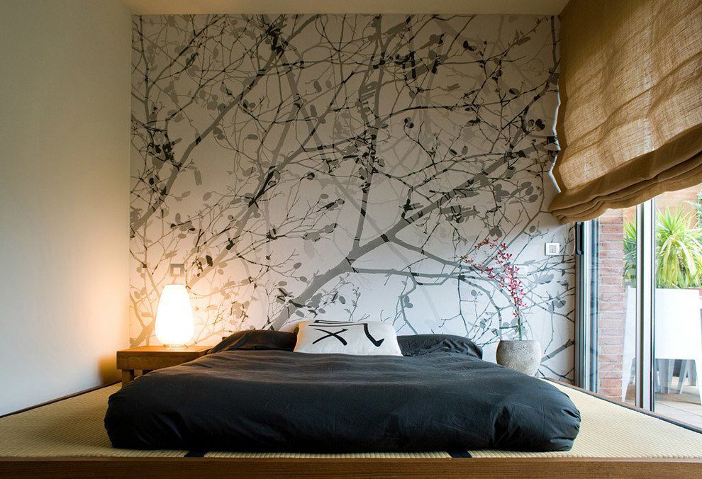 Phòng ngủ có cửa lớn để nhận được ánh sáng tự nhiên
