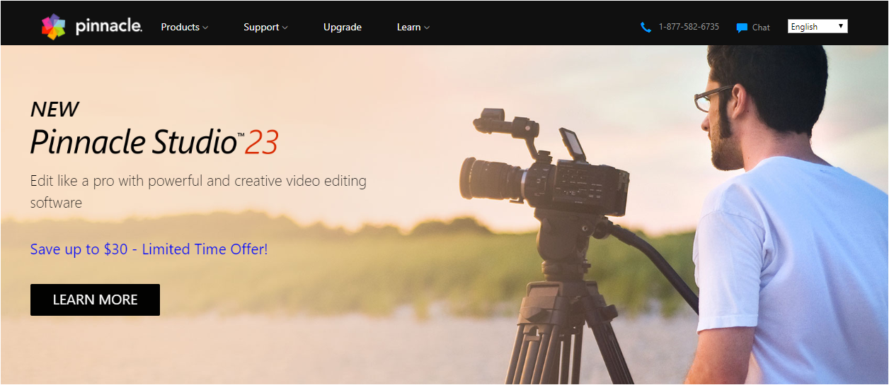Pinnacle VideoStudio video editing software and tools