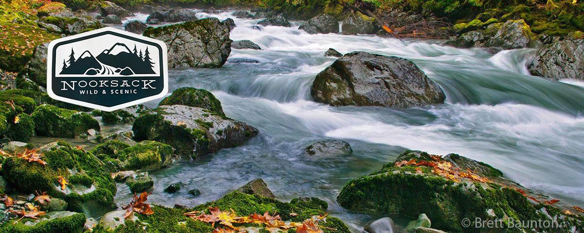 Attaining the Nooksack Wild and Scenic River                 © Brett Baunton